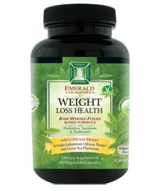 Emerald Labs Weight Loss Health Formula Powerful Combination of Clinically Proven Irvingia Gabonensis (African Mango) and Green Select Phytosome (Green Tea Extract) + Chromium Nicotinate Glycinate from Albion