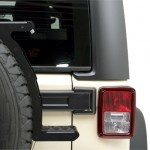 Front Runner Spare Tire Mount Utility Steps
