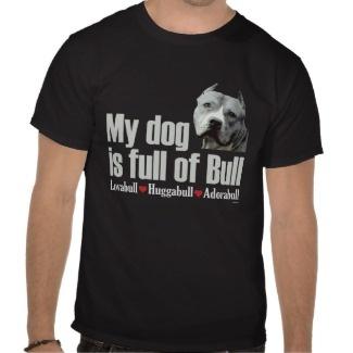 Love this pit bull t shirt