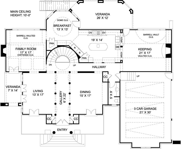 Best House Plans Images On Pinterest Blueprints For Homes