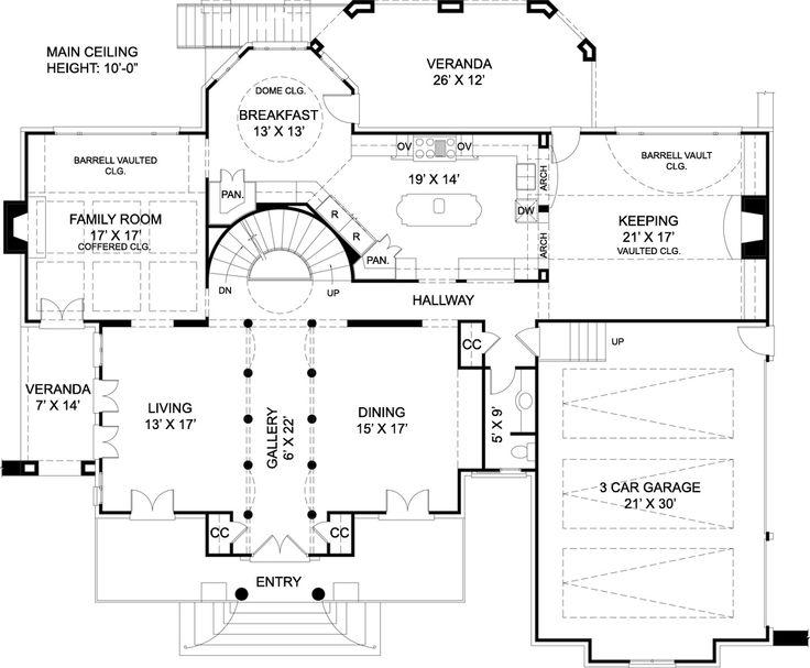 Best House Plans Images On Pinterest Blueprints For Homes