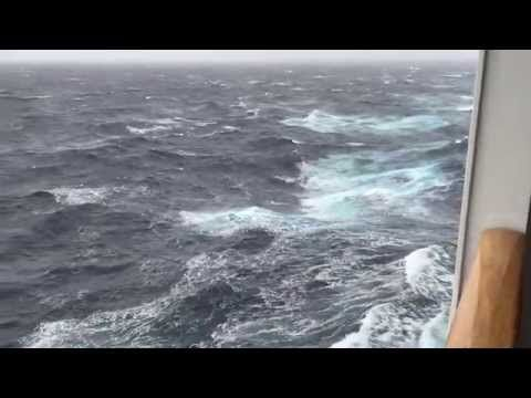 Cunard Queen Mary 2 Winter Crossing Rough Seas Video - Tips For Travellers http://www.tipsfortravellers.com/qm2-winter-crossing-rough-seas-video/