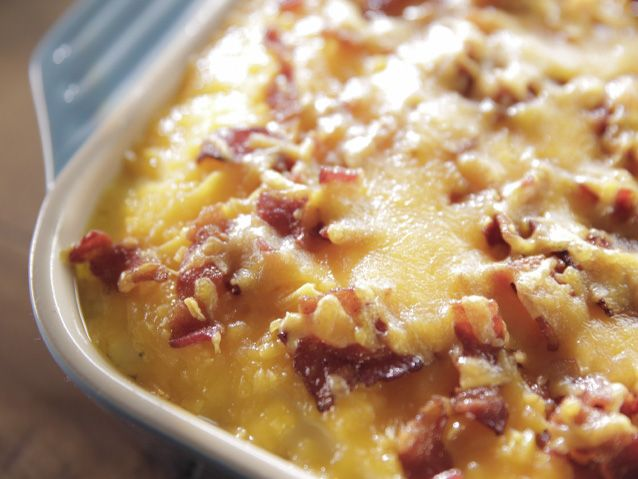 I made this today for Mother's Day dinner. Very good!----》Potato Casserole recipe from Trisha Yearwood via Food Network