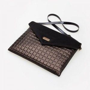 "Lola Victoria Design - torba na laptop 14"" i macbook 15"" CHOCOLATE BAR"