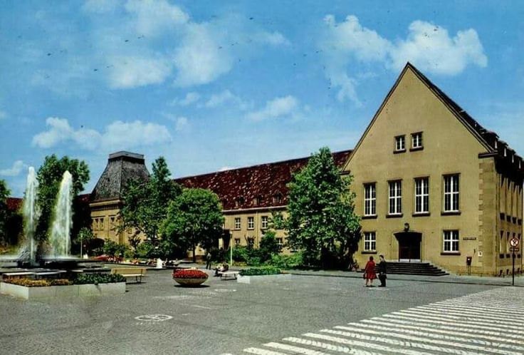 Universität Mainz 1971