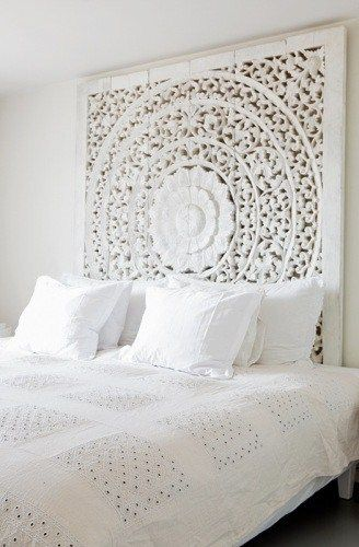 art piece headboard