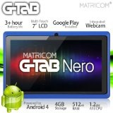 "7"" G-Tab Nero Tablet PC - Android 4 Capacitive Multi-Touch 4GB (Blue)"