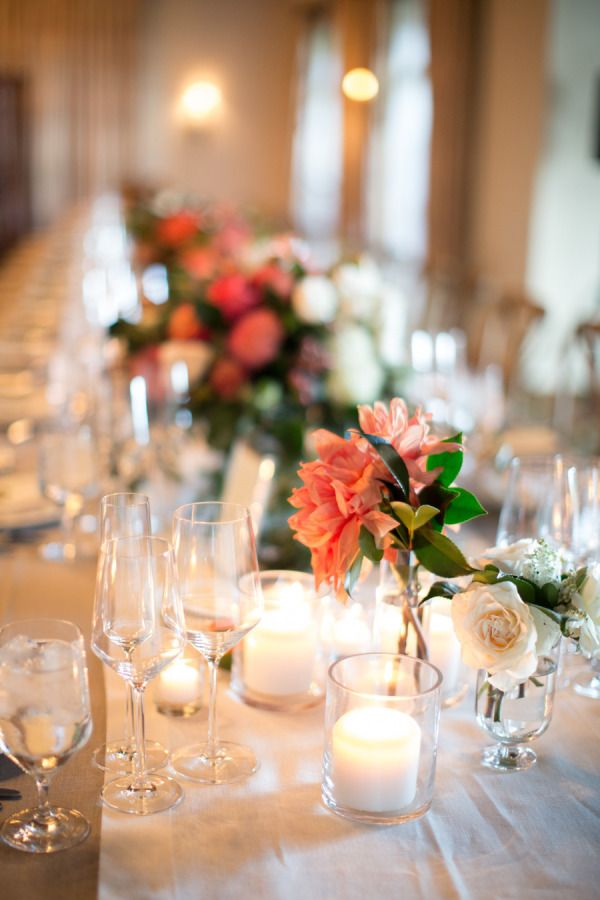 Centerpieces for long tables