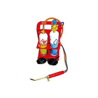 Macarico Portátil Oxigenio Acetileno Corte E Solda Turbo Set - R$ 1.067,48 no MercadoLivre