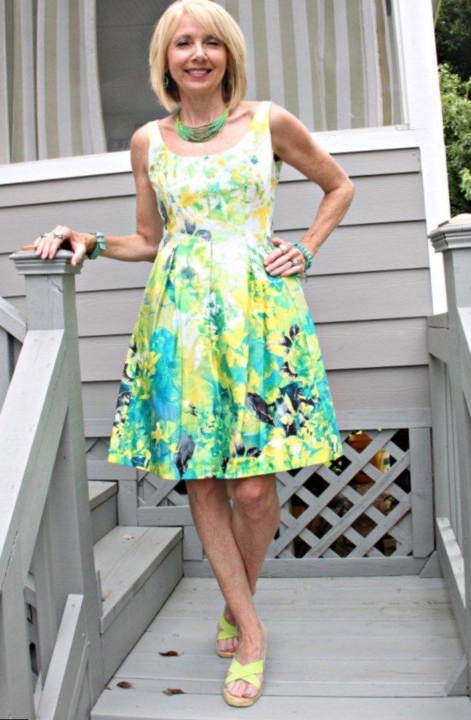 Flattering Dresses For Mature Women