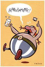 Homenaje a Asterix.