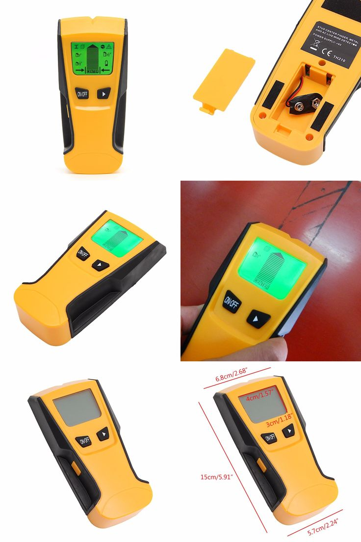 [Visit to Buy] 3 in 1 LCD Stud Center Finder AC Live Wire Detector Metal Scanner M126 hot sale #Advertisement