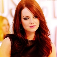 Love this hair color and cut. Reverse red ombre