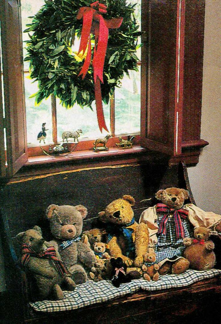 collection of bears