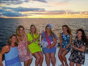 Sunset Cruise Hens Party Ideas Denarau Coral Coast Outrigger Activities
