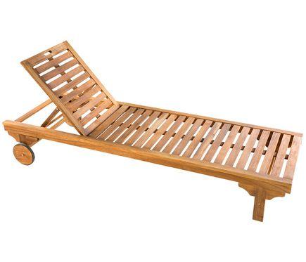 Tumbona madera de acacia PORTO