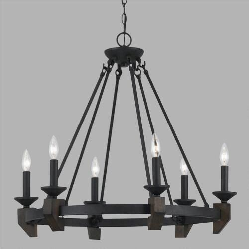 Putting a fresh, modern twist on the gothic chandelier, our Whittaker Chandelier makes a bold statement in any room. This dramatic fixture adds instant design appeal to your décor at a brilliant price.