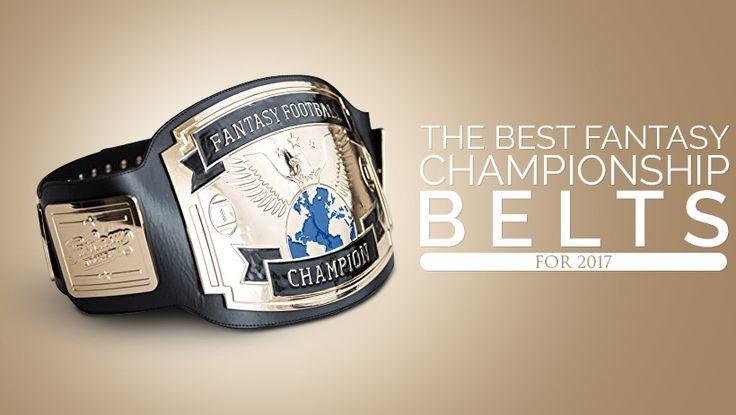 This review takes a look at fantasy championship belts from various merchants and why they're becoming so popular in fantasy football leagues.