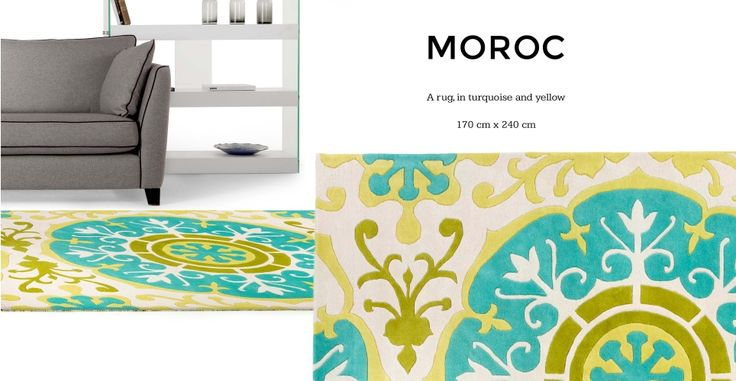 Moroc Rug, 170 x 240cm in multicolour | made.com