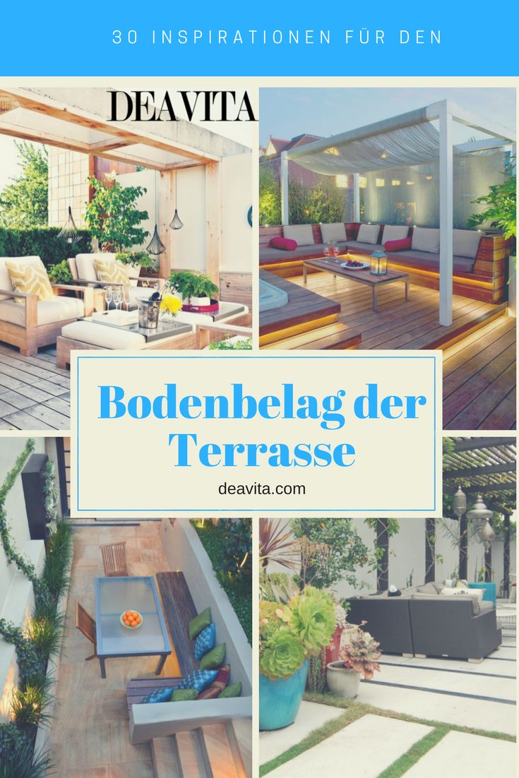25+ Best Ideas About Bodenbelag Terrasse On Pinterest | Bodenbelag ... Garten Neu Anlegen Outdoor Bereich Jahreszeit