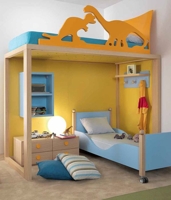 Kids bedroom design ideas and pictures by dear kids for Dinosaur bedroom ideas boys