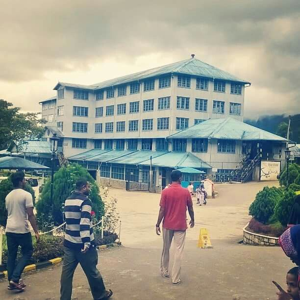 Blue field tea factory  in nuwara eliya