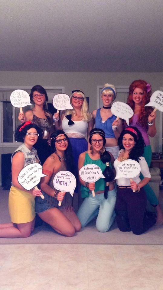 disney princess hipsters - Hipster Halloween Ideas