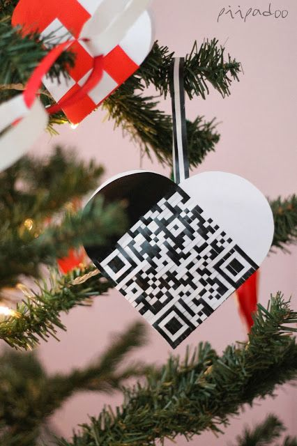 QR code heart (Papermatrix)