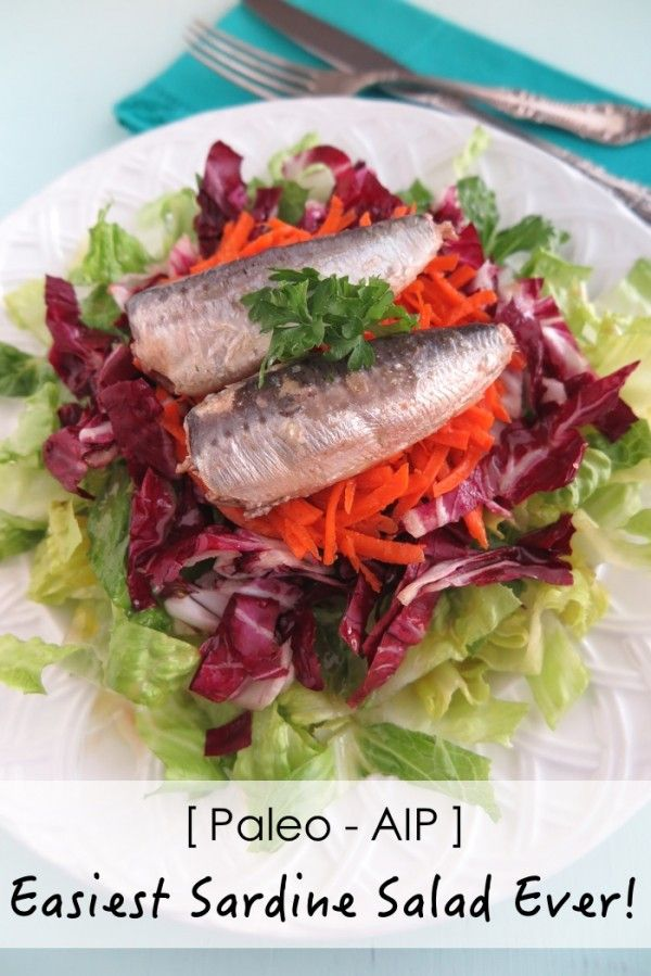 The Scoop on Canned sardines and the Easiest Sardine Salad Ever - A Squirrel in the Kitchen