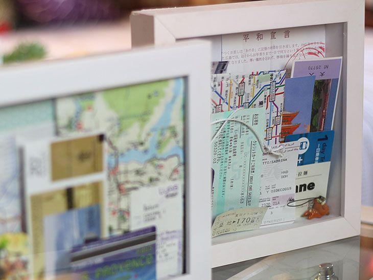 Faça um quadro de recordações de viagem gastando pouco