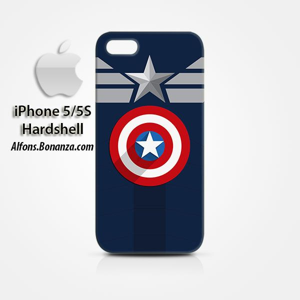 Clothes Captain America iPhone 5 5s Hardshell Case