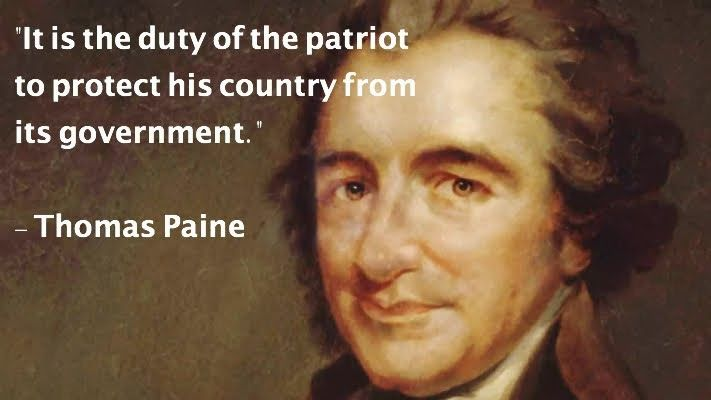 the secrets of thomas paine The age of reason by thomas paine  and it is not improbable that the roman government might have some secret apprehension of the effects of his doctrine as .