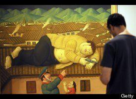 Dead Pablo Escobar ~ Fernando Botero