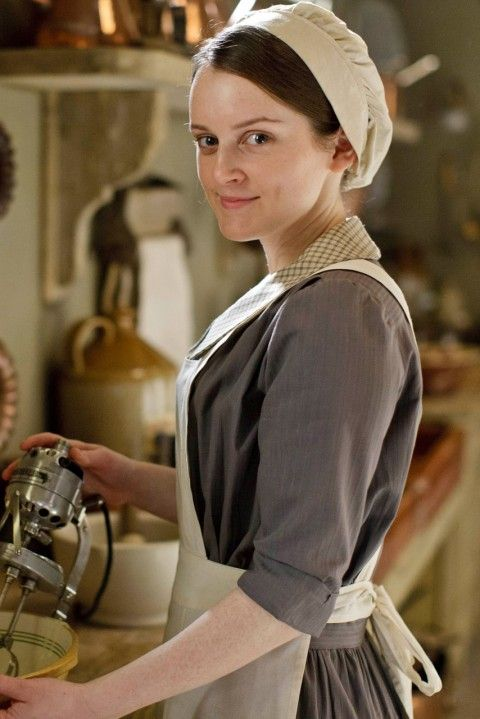 Downton Abbey Series 4: they got a mixer! I can't imagine life without mine...