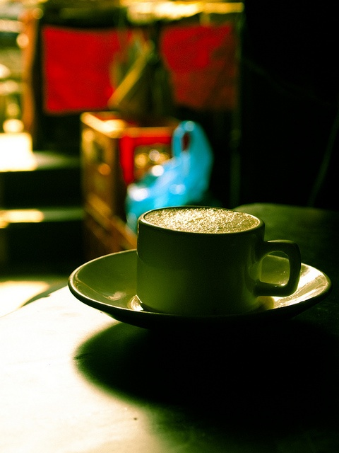 Tea in a Tea Cup - Red by Arun Shah Masood, via Flickr