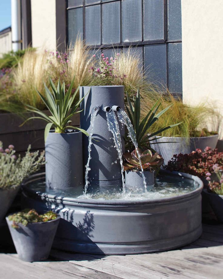 18 best fontaine images on pinterest garden fountains backyard ideas and gardening. Black Bedroom Furniture Sets. Home Design Ideas