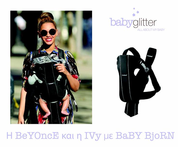 Ωραία Μαμά η Beyoncé !!!!Τι λέτε? http://babyglitter.gr/brands/baby-bjorn/