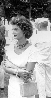 Jackie Kennedy . . .the lady always had class