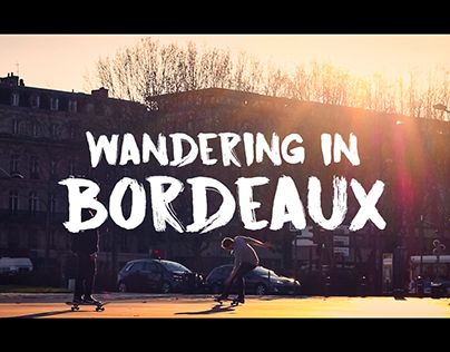 """Check out new work on my @Behance portfolio: """"Wandering In Bordeaux #1"""" http://be.net/gallery/47156813/Wandering-In-Bordeaux-1"""