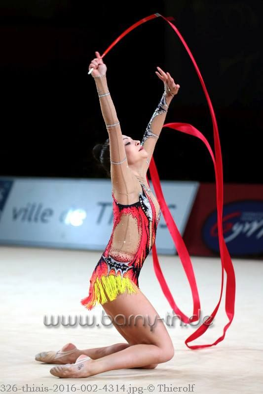 Jana Berezko Marggrander (Germany), Grand Prix (Thiais) 2016