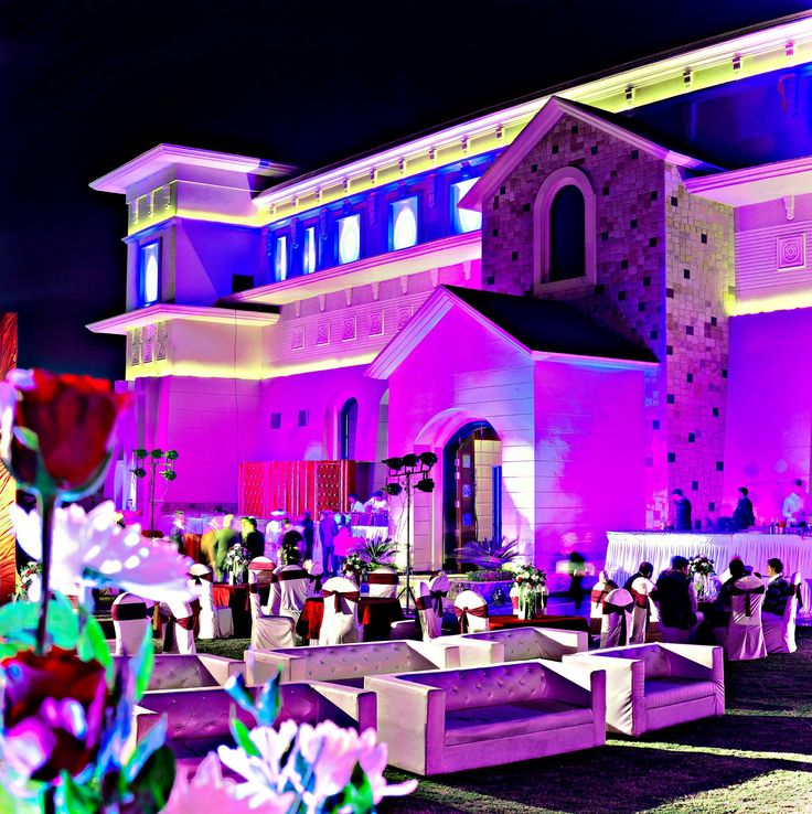 Our Banquet Hall Exterior.