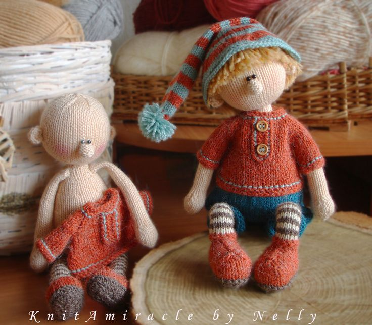 Knitting Pattern Boy Doll : 448 best images about Crocheted and Knit Dolls on ...