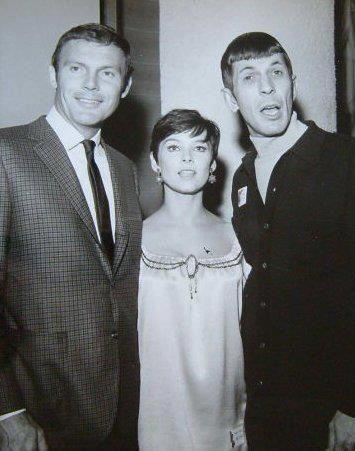 Adam West, Ivonne Craig & Leonard Nimoy
