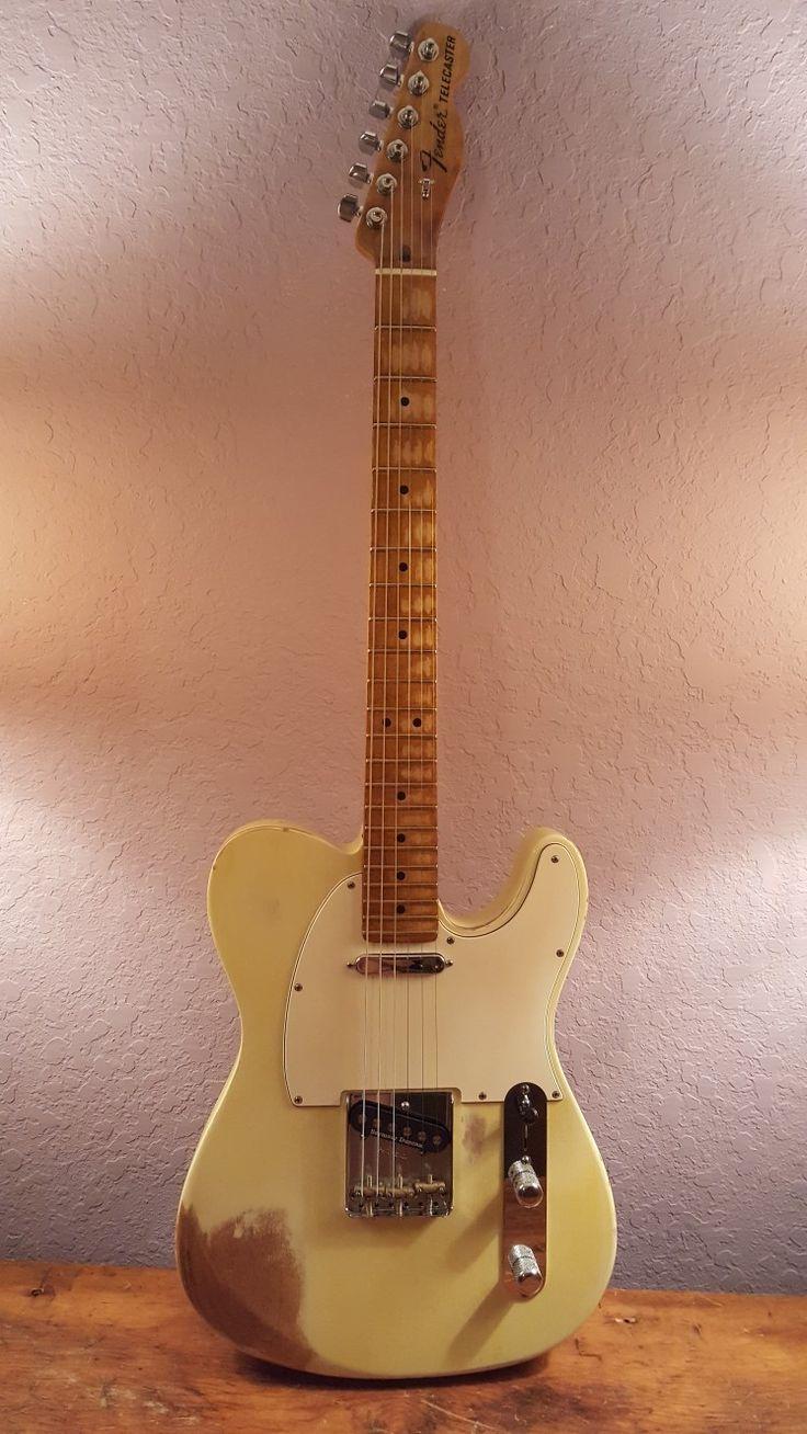 Thornton Relics Fender USA Telecaster. SD quarter pounder pickups Plays like a dream!