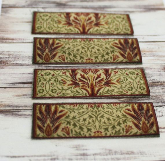 Dollhouse Stair Tread or Rug in a Traditional or by GreenGypsies