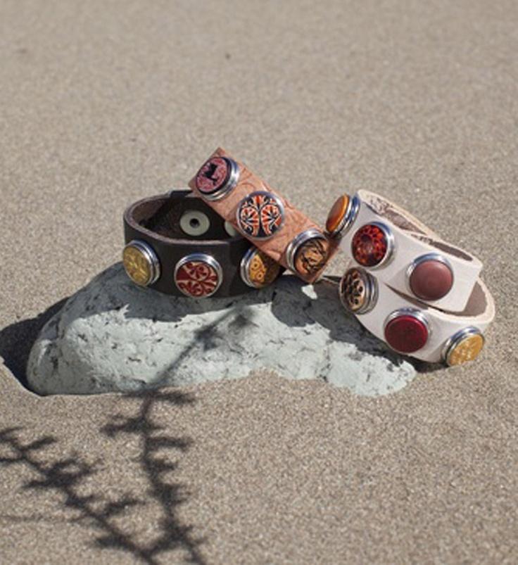 Noosa Amsterdam bracelets / armbanden met chunks - NummerZestien.eu