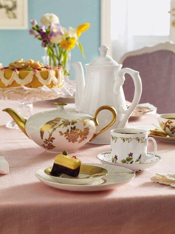 vintage china tea sets inspiration