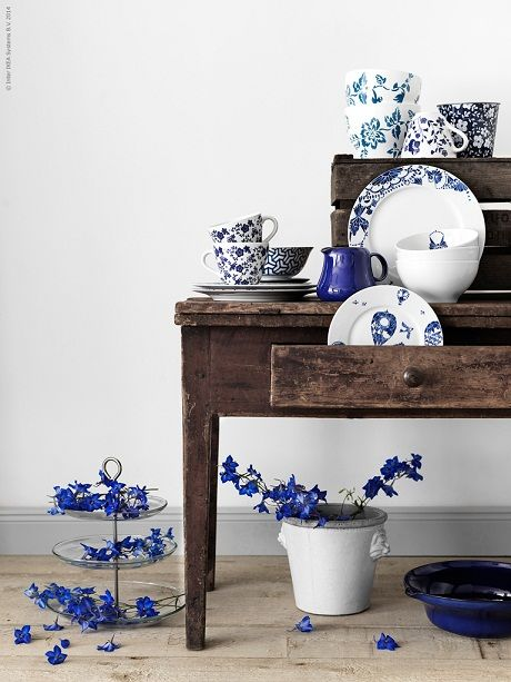 The summer blues with Ikea