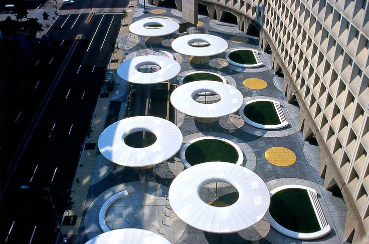 HUD Plaza, Washington, D.C., USA - Martha Schwartz Partners