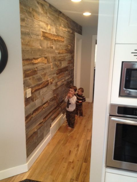 Stikwood Reclaimed Weathered Wood ~ Peel and Stick - 43 Best Images About Stickwood DIY Projecten On Pinterest